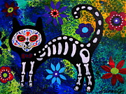Pristine Cartera Turkus - Cat Day Of The Dead