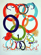 Donna Wiegand - Celebration of Circles II