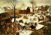Pieter the Elder Bruegel - Census at Bethlehem