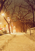 Max Ferguson - Central Park Nocturnal Snow II