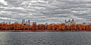 Panoramas - Central Park Reservoir Panorama Fall 2011 by Robert Ullmann