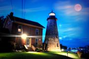 Emily Stauring - CG Lighthouse by the moon