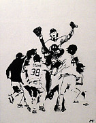 White Sox Paintings - Champions by Matthew Formeller