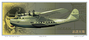 China Clipper Framed Prints - Chasing the Sun  Number One Framed Print by Kenneth De Tore