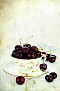 Ripe Photos - Cherries by Stephanie Frey