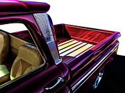 Red Chevrolet Prints - Chevy Custom Truckbed Print by Douglas Pittman