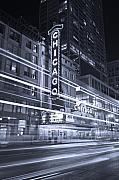 Steve Gadomski - Chicago Theater Marquee B and W