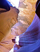 Peter Lik Framed Prints - CHIEF BEAR CLAW in Lower Antelope Canyon Framed Print by Ruth Hager