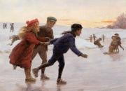 Percy Tarrant - Children Skating