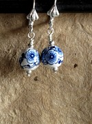 Daytime Jewelry - China Blues by Jan  Brieger-Scranton