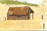 Rusty Drawings - Chinese Camp by Pat Price