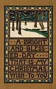 American School - Christmas Card