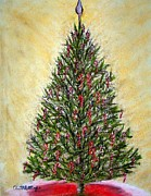Candy Pastels - Christmas Tree by Annette Battaglia