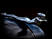Automotive Art - Chrome Angel by Douglas Pittman
