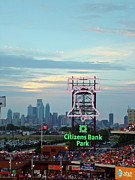 Phillies Photo Prints - Citizens Bank Park 1 Print by See Me Beautiful Photography