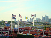 Phillies Photo Prints - Citizens Bank Park 3 Print by See Me Beautiful Photography