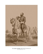 Battle Art - Civil War General James Garfield by War Is Hell Store