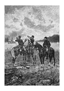 Call Framed Prints - Civil War Soldiers On Horseback Framed Print by War Is Hell Store