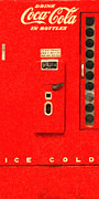 Wingsdomain Art and Photography - Classic Coke Dispenser Machine . Long...