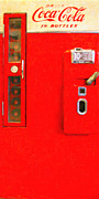 Wingsdomain Art and Photography - Classic Coke Dispenser Machine . Type 2...