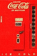 Wingsdomain Art and Photography - Classic Coke Dispenser Machine