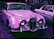 Hand Crafted Art - Classic in Pink by George Pedro