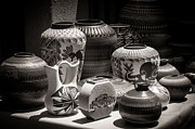 Sherry Davis - Clay Pots Black and White