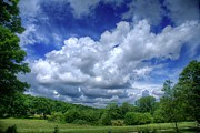 Matthew Green Acrylic Prints - Clouds Acrylic Print by Matthew Green