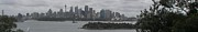 Kate Farrant - Cloudy Sydney Panorama