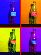 Wingsdomain Art and Photography - Coca-Cola Coke - Painterly - Four