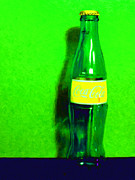 Wingsdomain Art and Photography - Coca-Cola Coke - Painterly - Green