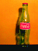 Wingsdomain Art and Photography - Coca-Cola Coke - Painterly - Orange
