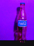 Wingsdomain Art and Photography - Coca-Cola Coke - Painterly - Purple