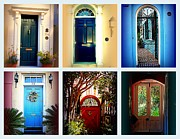 Susanne Van Hulst - Collage of Charleston Doors