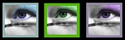 Lotze Posters - Collage of Eyes 2 Poster by ChelsyLotze International Studio