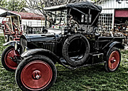 Ford Model T Car Posters - Collectors Dream Poster by Kristie  Bonnewell