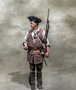 Randy Steele - Colonial Militia Soldier 1777