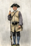 Randy Steele - Colonial Militia Soldier Portrait