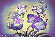 Gina De Gorna - Colorful Orchid Flowers