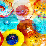 Colorful Plates Fine Art Print by Artist and Photographer Laura Wrede