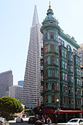 Wingsdomain Art and Photography - Columbus Tower and the Transamerica...