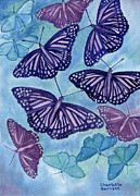 Communication Paintings - Communication Butterfly by Charlotte Garrett