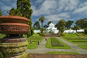 Conservatory Of Flowers Photos - Conservatory and Planter by Tim Mulina