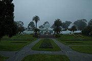 Conservatory Of Flowers Photos - Conservatory in Fog by Tim Mulina