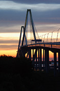 Suzanne Gaff - Cooper River Bridge at Sunset