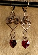 Daytime Jewelry - CopperHearts by Jan  Brieger-Scranton