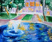 Anne Cameron Cutri - Courtyard Fountain