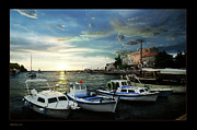 Art In Acrylic Digital Art Framed Prints - Croatia Istrien Framed Print by Bruno Santoro