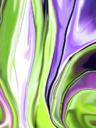 Linnea Tober Acrylic Prints - Crocus Abstract16 Acrylic Print by Linnea Tober