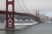 Wingsdomain Art and Photography - Cruise Ship Sapphire Princess Under...